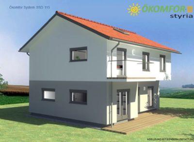 komfor styria haus kologisches bauen mit komfort einfamilienhaus linz 2cg294c. Black Bedroom Furniture Sets. Home Design Ideas