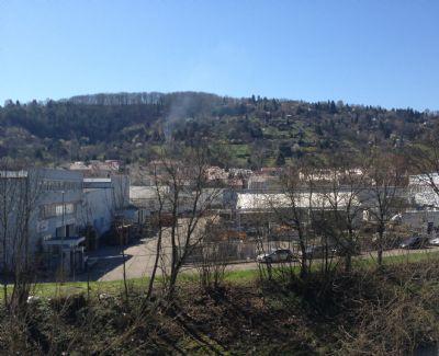 Blick vom Dachbalkon nach Süden