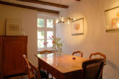 Das Eßzimmer