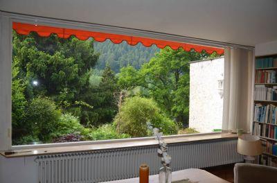 Wohnzimmer Blick in den Garten