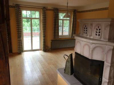 Wohnzimmer / Blick auf Terrasse
