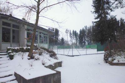 Tennisclubhaus vom Verein