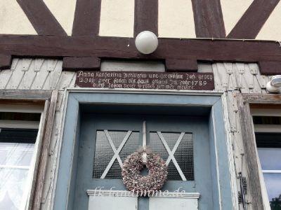 Die historische Haustür