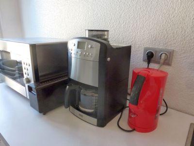 Kaffemaschine für Bohnen und Cáfémehl