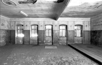 Historische Aufnahme des ehem. Festsaals