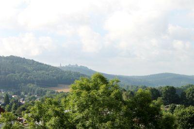 Blick Richtung Südwest nach Augustusburg