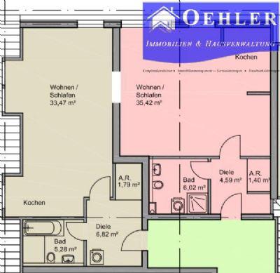 Moderne und große Wohnung in Stadtkernlage von Werl {96 m²} *Tiefgarage*