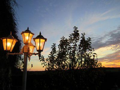 romantisch - Laternen mit weichem Licht