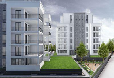 SALCO QUARTIER - Lichtdurchflutete Erdgeschosswohnung mit Gartenanteil - PROVISIONSFREI!
