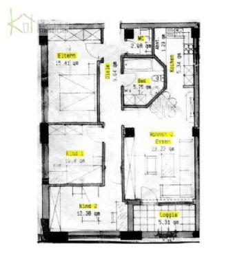 ruhig gelegene 4 raum wohnung mit balkon aufzug g ste wc pkw stellpl tze im hof wohnung. Black Bedroom Furniture Sets. Home Design Ideas
