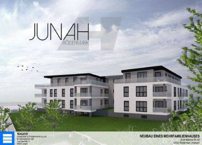 NEUBAU! Moderne Erdgeschoss-Wohnung in Feldrandlage - OHNE MAKLERPROVISION!!!
