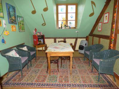 Warteraum Musikschule