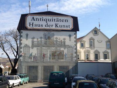 Fassade handbemalt im Stil des 16.Jhdt.