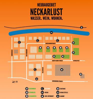 Lageplan Neckarlust