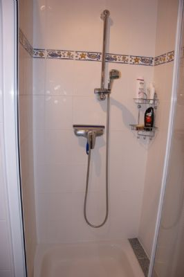 Dusche Wohnung EG