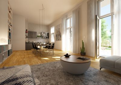 Familienhighlight im Nordend: 5-Zimmer mit 2 Terrassen und privatem Garten