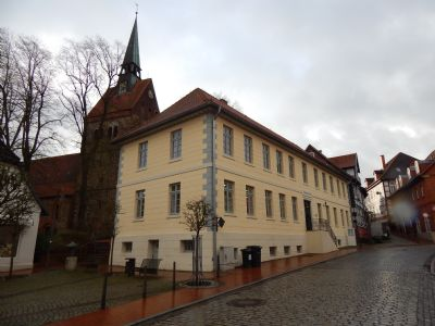 Seniorengerechte 2 Zimmer Wohnung im Ortszentrum von Bruchhausen-Vilsen zu vermieten - auch für Praxis oder Büro geeignet