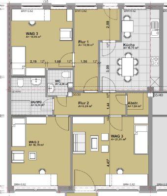 perfekt f r eine wohngemeinschaft etagenwohnung kassel 2jtnr46. Black Bedroom Furniture Sets. Home Design Ideas
