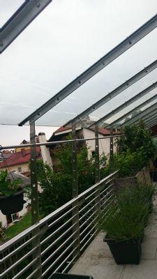 Dachterrasse mit Glasdach
