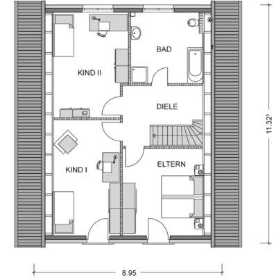 jetzt bauen haus inkl grundst ck einfamilienhaus w chtersbach 2htu447. Black Bedroom Furniture Sets. Home Design Ideas