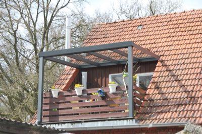 Große Dachgeschosswohnung mit überdachter, sonniger Loggia in Fischerhude-Quelkhorn