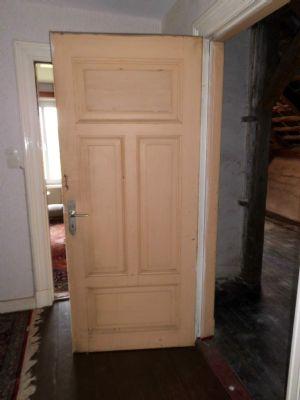Ansicht des Türblattes unter der Holzplatte