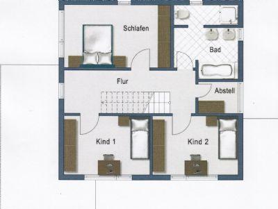 modern mit klaren strukturen einfamilienhaus melle 2fct44n. Black Bedroom Furniture Sets. Home Design Ideas