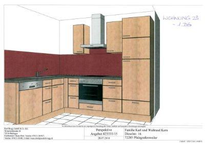 7123 - 1 DG re - Galerie Küche