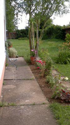 Garten Westseite
