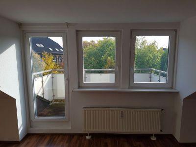 Fenster zum Balkon