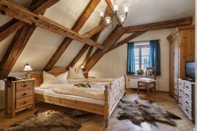 Behagliche Fremdenzimmer mit historischem Charme