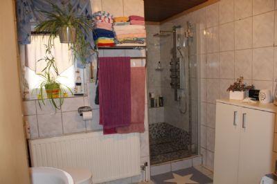 Das Tageslichtbad mit Dusche