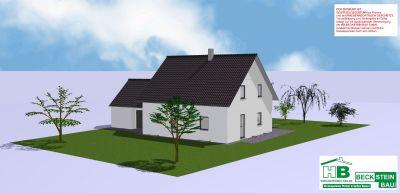 Haus 1 Nord-West Garage mit Satteldach