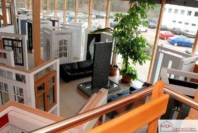 Blick vom hinteren Zwischengeschoss (Küche)