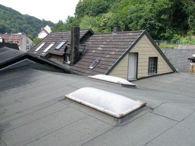 Dachbereich Gewerbehalle