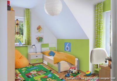 Geräumiges Kinder- oder Gästezimmer