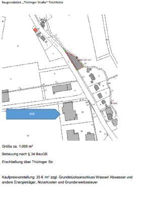 Tritos 1.1730 auf +++ Baugrundstück in verkehrsgünstiger Lage +++