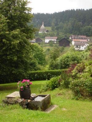 Ausblick Richtung Ortschaft