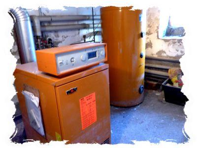 Gas-Zentralheizung