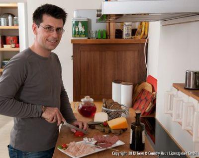 in der eigenen Küche
