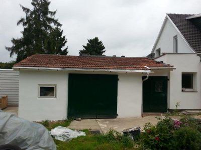 kleine Garage + Abstellraum