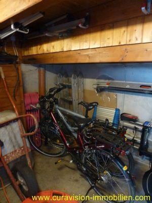 Abstellraum für Fahrräder