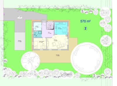 Lageplan Grundstück 2