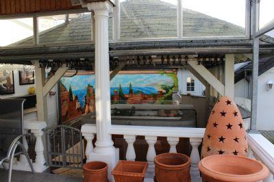 Außen-Bar und Außen-Whirpool