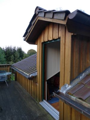 Balkon am Schlafzimmer