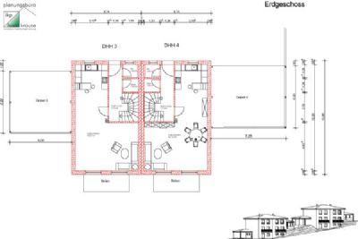 Erdgeschoss DHH 3 und DHH 4