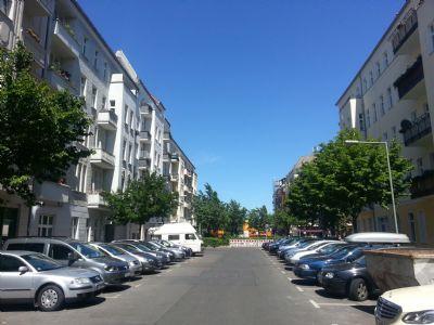 Naugarder Straße Blick Richtung Norden