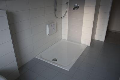 Beispiel - Flache Dusche optional