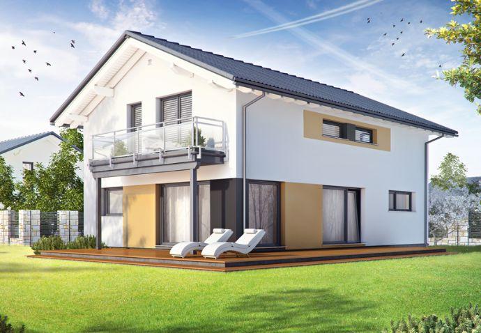 Wohnen auf dem Land?..Einfamilienhaus für die große Familie im Landhausstyl, bezugsfertig KfW 70