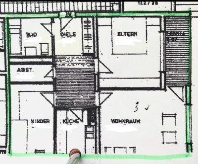 Helle, frisch renovierte 3-Zimmer-Wohnung mit Balkon ab 15.04.2020 verfügbar